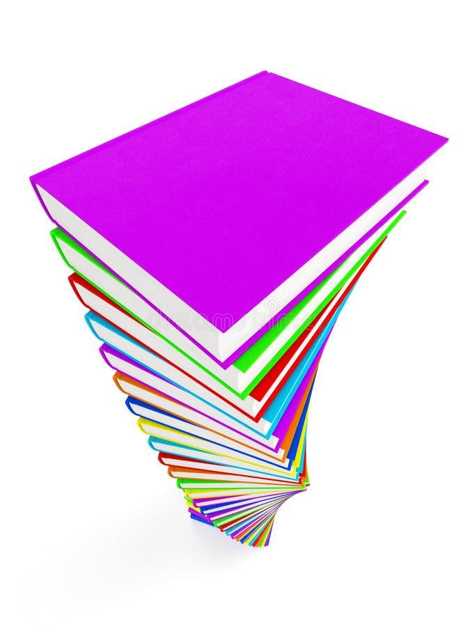 Bücher 3 stock abbildung