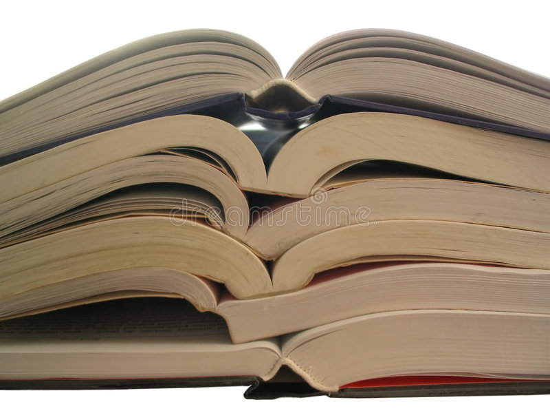 Bücher, Bücher, Bücher, lizenzfreies stockbild