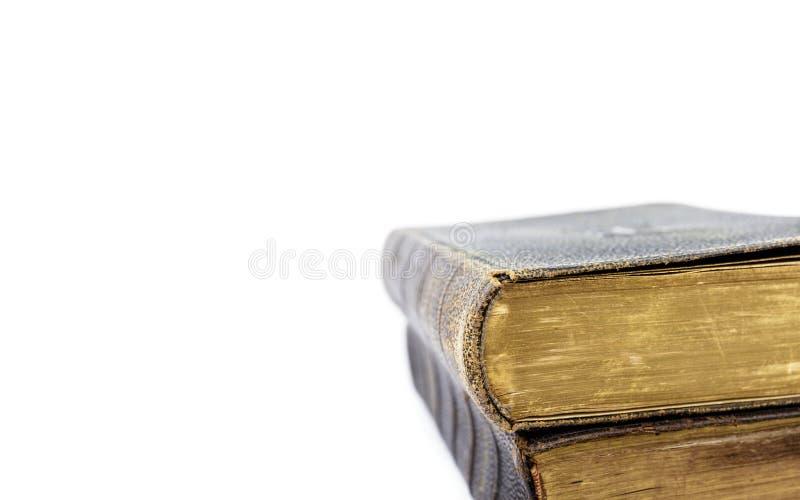 Bücher der Liturgie der katholischen Kirche lokalisiert auf Weiß stockfoto