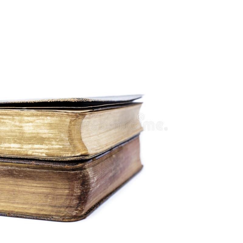 Bücher der Liturgie der katholischen Kirche lokalisiert auf Weiß stockfotografie