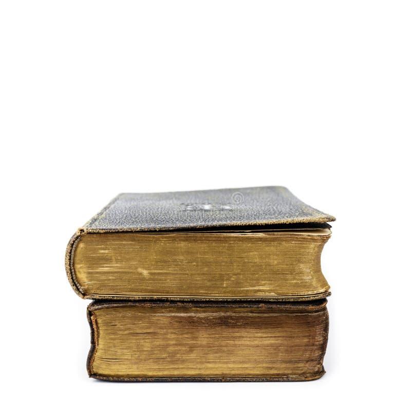 Bücher der Liturgie der katholischen Kirche lokalisiert auf Weiß stockfotos
