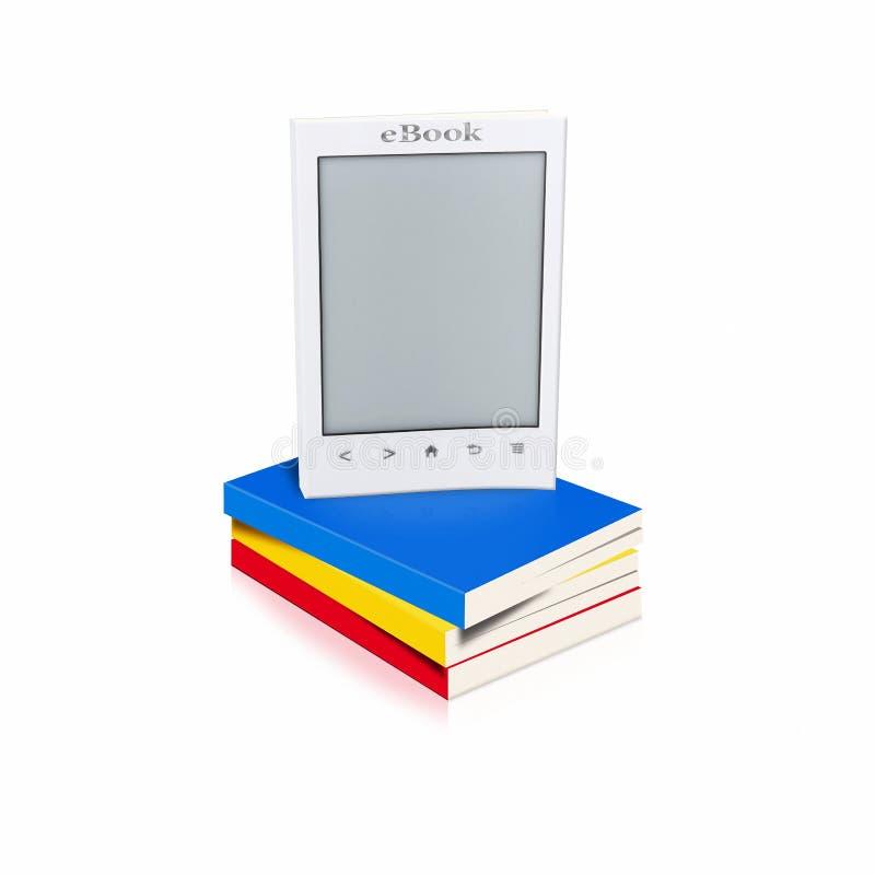 Bücher und eBook stock abbildung