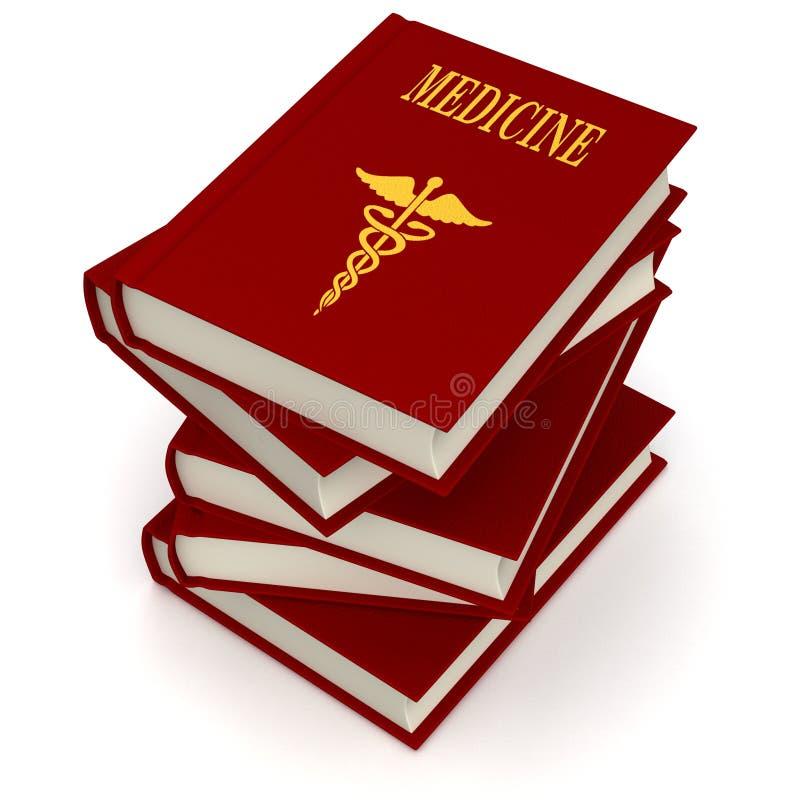 Bücher von MEDIZIN lizenzfreie abbildung