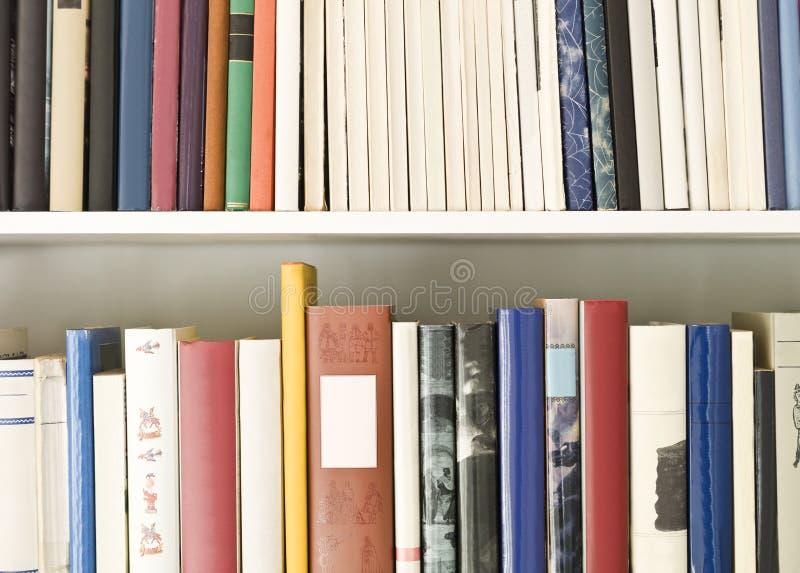 Bücherregal lizenzfreies stockfoto