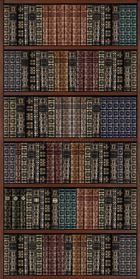 Bücherschrank stockbild