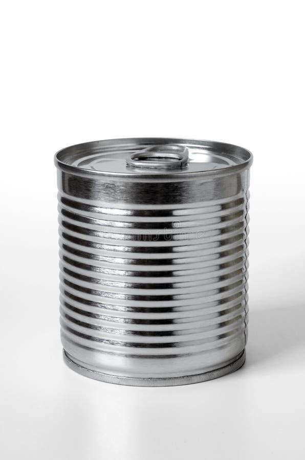 In Büchsen konservierte Nahrung stockbild