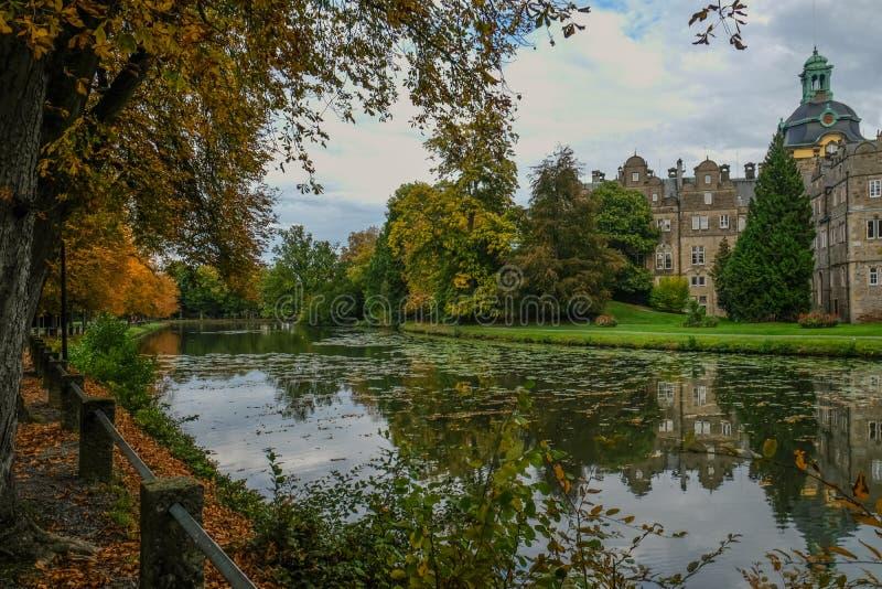 BÜCKEBURG/ALLEMAGNE - Octobre 2019 : Château de Bückeburg/Bueckeburg en Allemagne photo stock