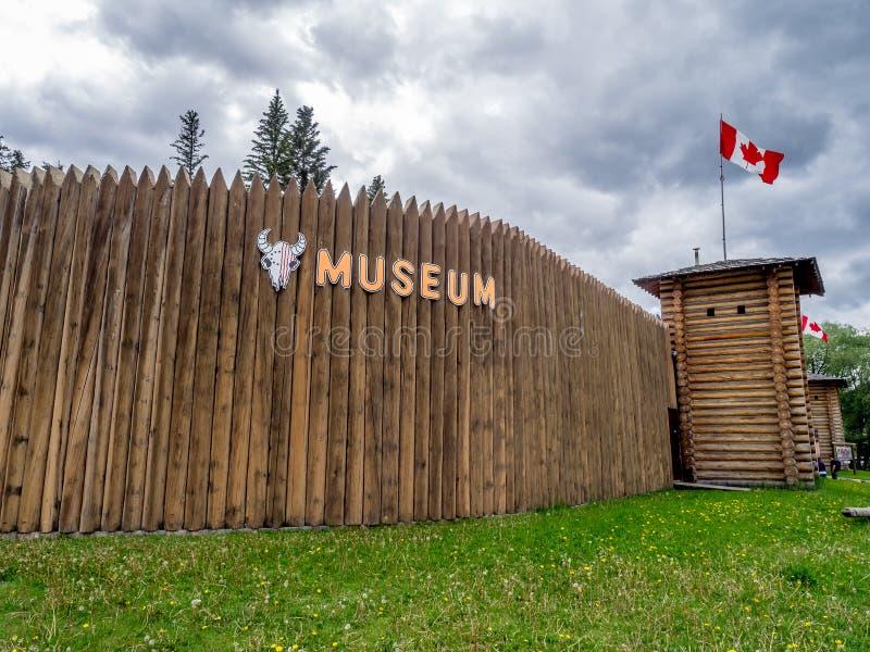 Büffel-Nationen Luxton-Museum stockfotografie