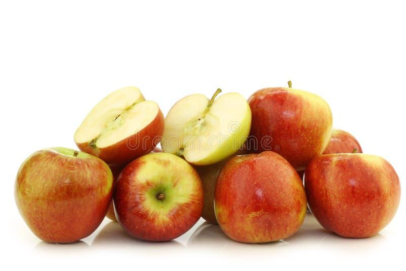 Bündel braeburn Äpfel stockfoto