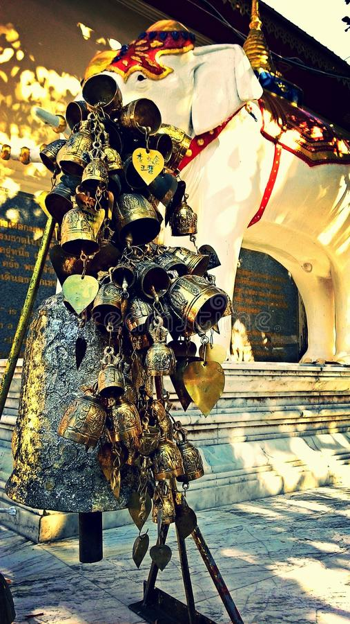 Bündel der Glocken lizenzfreie stockbilder