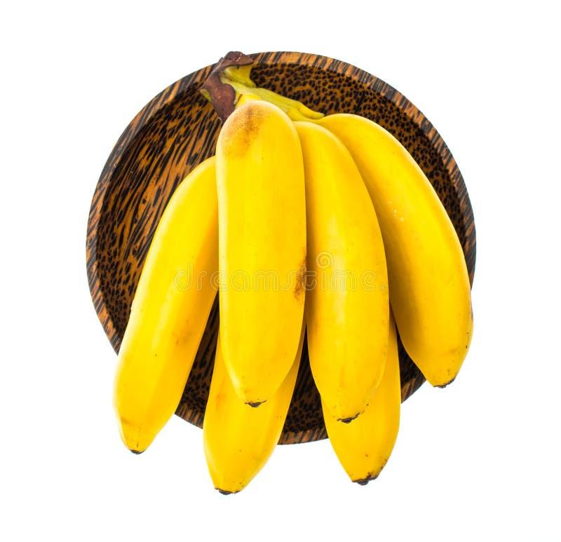 Bündel der reifen süßen Baby-Banane stockbild