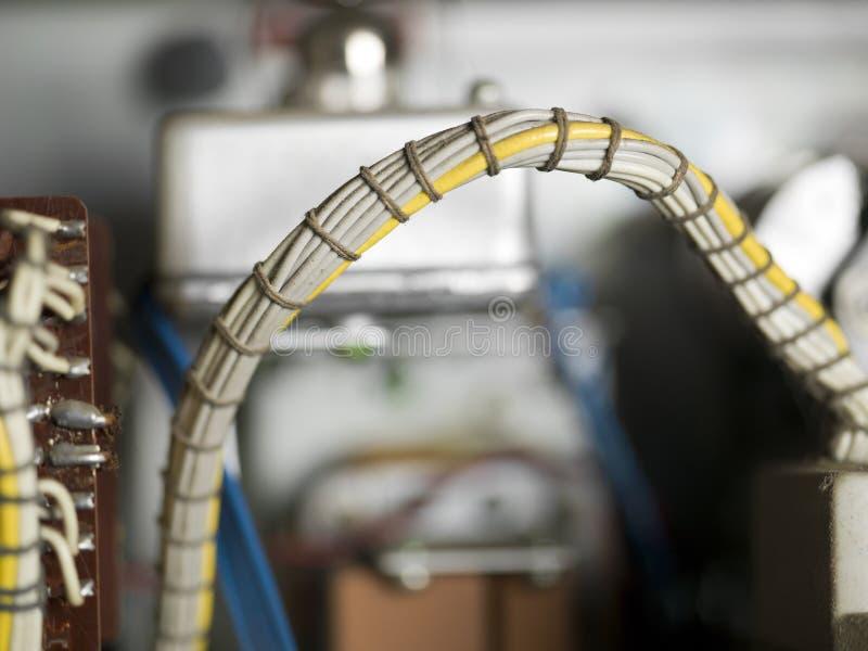 Bündel Kabel stockbilder