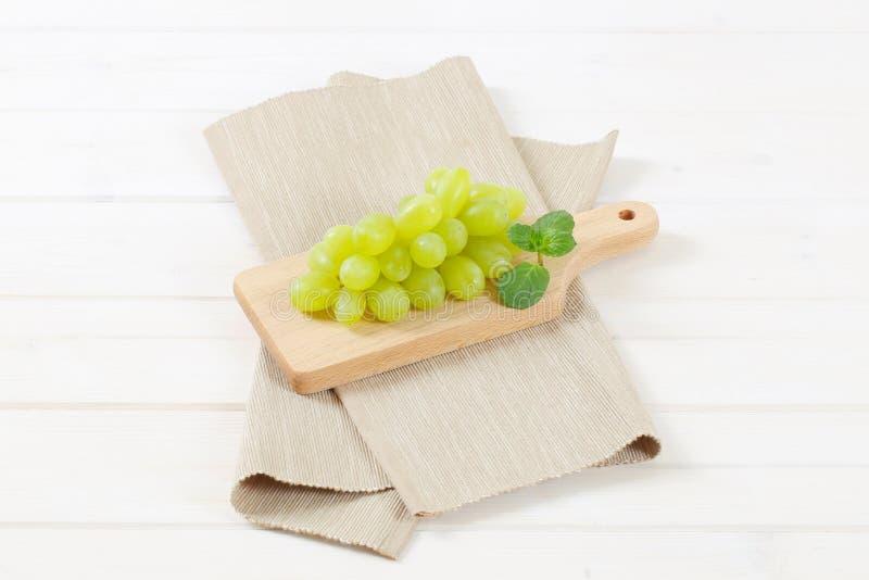Bündel weiße Trauben lizenzfreies stockbild