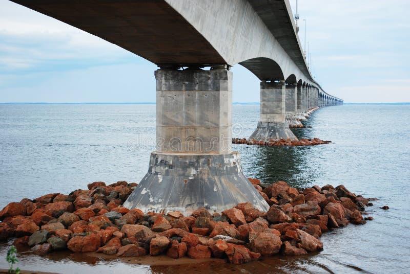 Bündnis-Brücke, New-Brunswick lizenzfreie stockfotos