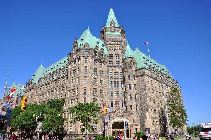 Bündnis-Gebäude, Ottawa, Kanada lizenzfreie stockfotografie