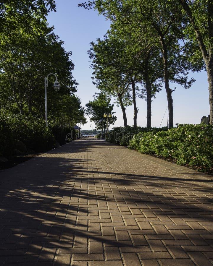 Bündnis-Landungs-Park in Charlottetown, Prinz Edward Island, Kanada stockfoto