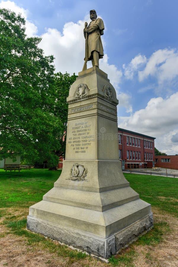 Bürgerkrieg-Monument lizenzfreie stockfotografie