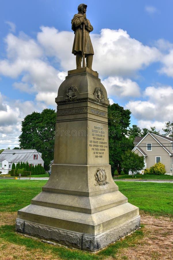 Bürgerkrieg-Monument stockfotos