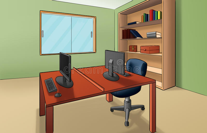 Büro vektor abbildung