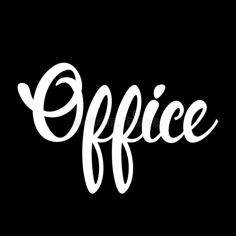 Büro-Arbeitsplatz-Management-Geschäft Infographic lizenzfreie abbildung