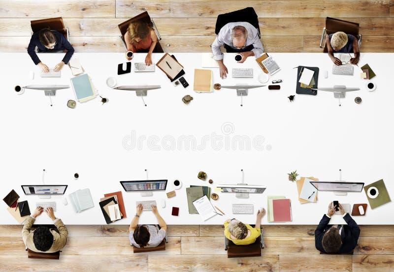 Büro-Berufsbesetzungs-Geschäfts-Unternehmenskonzept lizenzfreie stockbilder