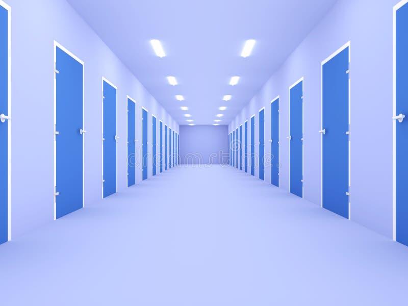 Büro-Fußboden vektor abbildung