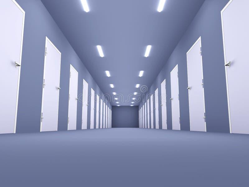 Download Büro-Fußboden stock abbildung. Illustration von render - 9089429