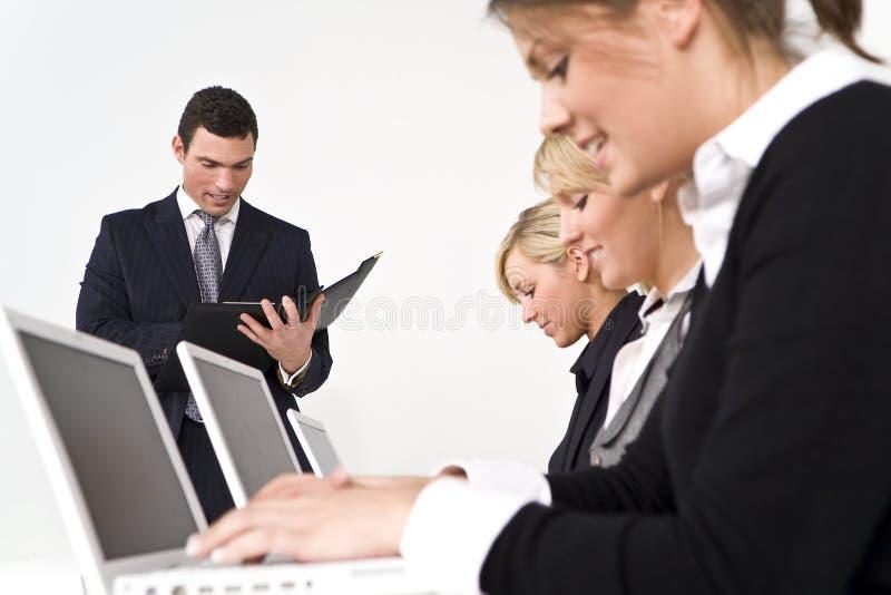 Büro-Geschäftstreffen stockfoto