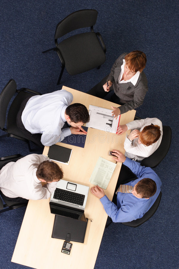 Büro-Konferenz lizenzfreies stockbild