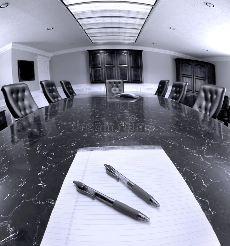Büro-Konferenzsaal stockfotografie