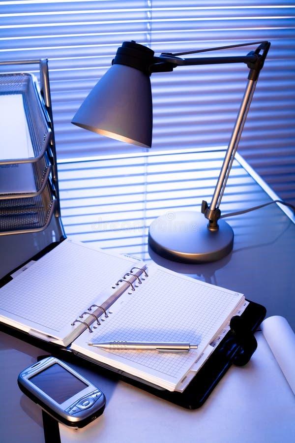 Büro-Schreibtisch stockfoto