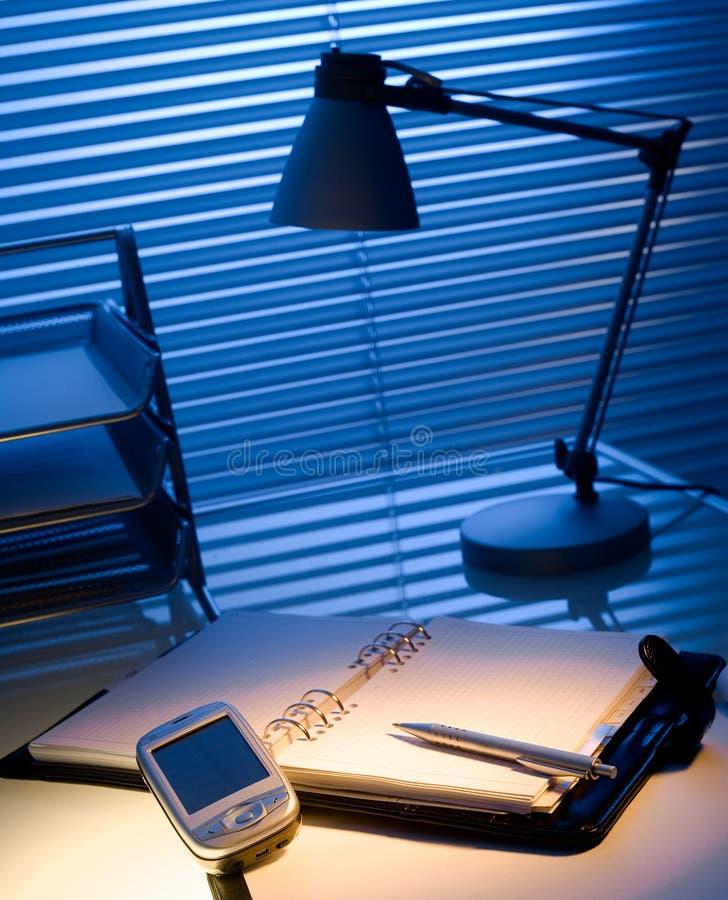 Büro-Schreibtisch lizenzfreie stockfotos