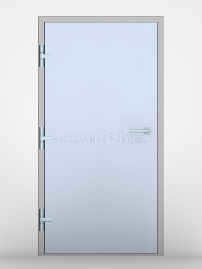 Büro-Tür stock abbildung