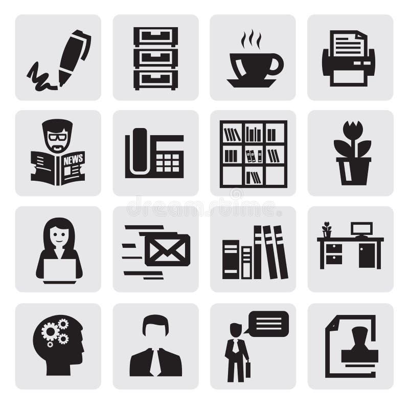 Büro und Geschäft lizenzfreie abbildung