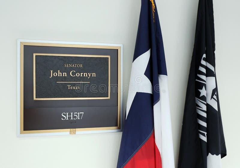 Büro von Senator John Cornyn Vereinigter Staaten stockfoto