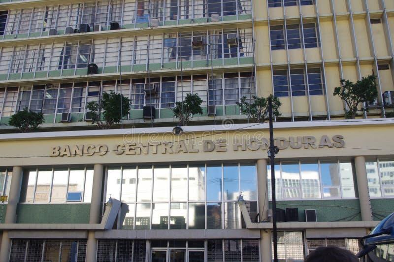 Büro von Zentralbank von Honduras lizenzfreies stockfoto