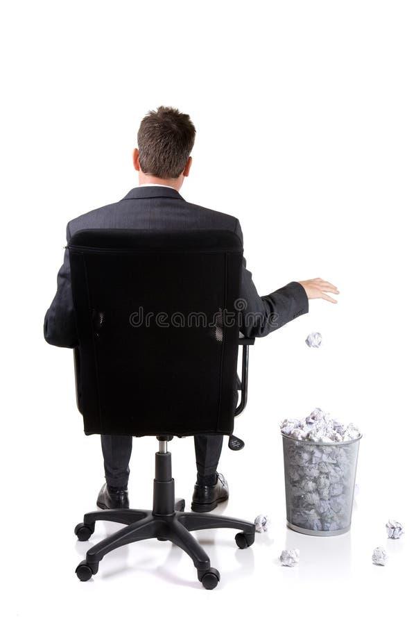 Büroabfall lizenzfreie stockfotos