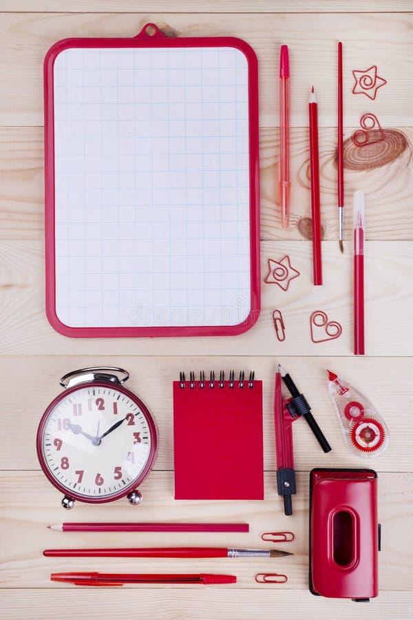 Bürobriefpapier für Studie stockfoto