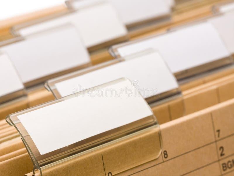 Bürofaltblätter stockfotos