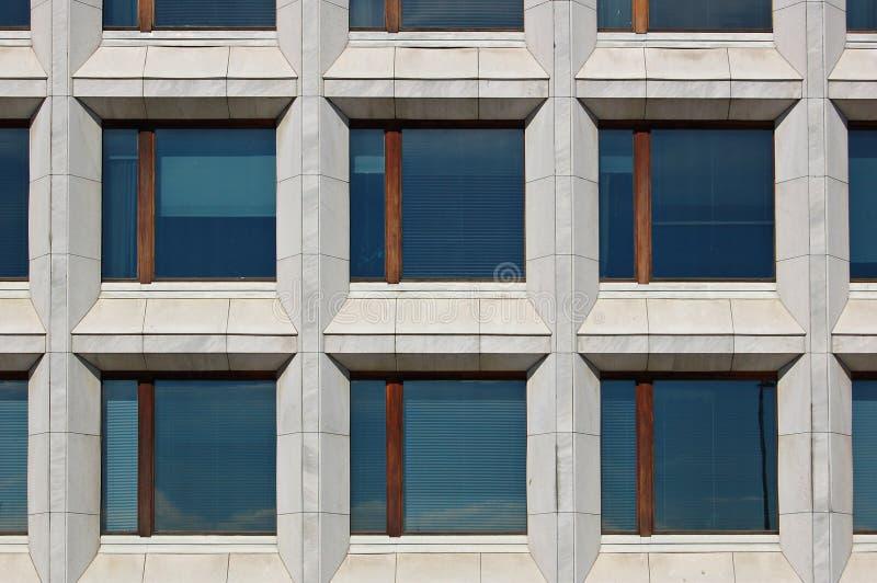 Bürofenster lizenzfreies stockfoto