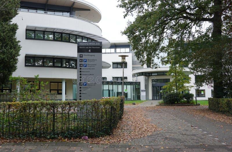 Bürogebäude in Baarn in den Niederlanden lizenzfreie stockfotos