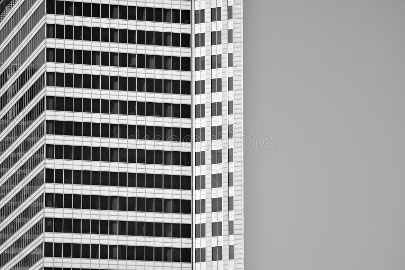 Bürogebäude-nahes hohes Modernes Bürogebäude mit Fassade des Glases Rebecca 6 stockbilder