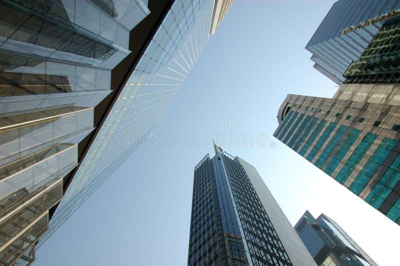 Bürohaus - Hong Kong stockbilder