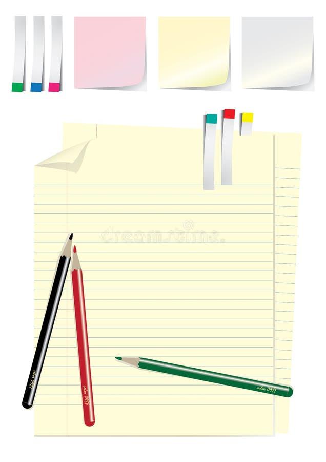 Bürohilfsmittel stockbilder
