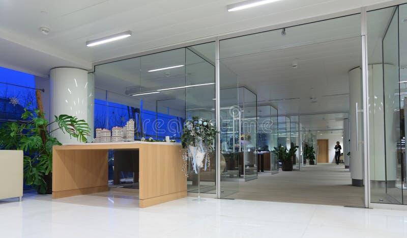 Büroinnenraum lizenzfreie stockfotos