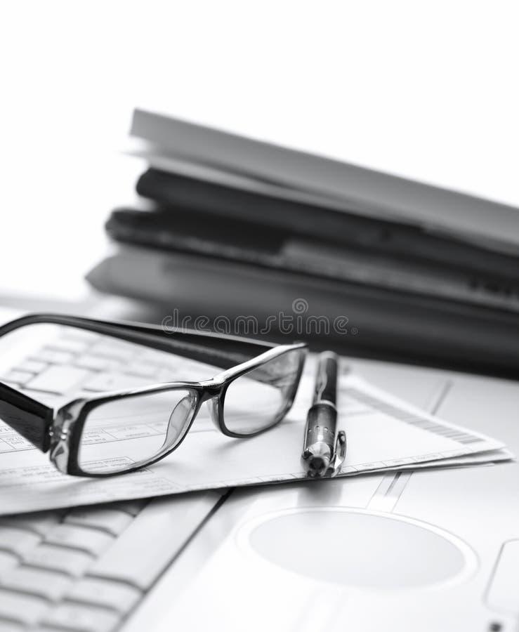 Bürojob stockbild