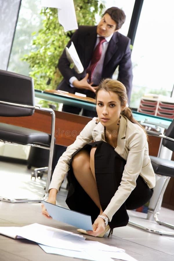 Büroleben stockfoto