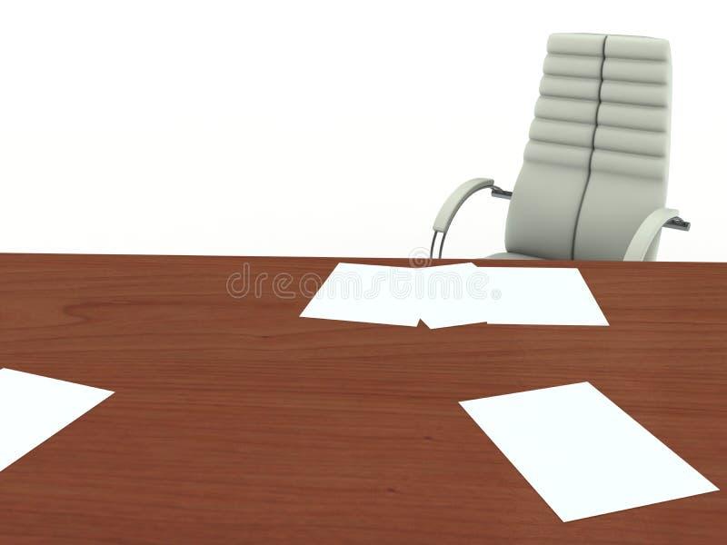 Büromöbel stock abbildung