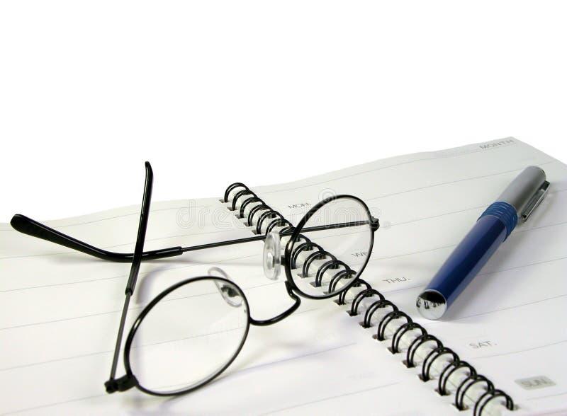 Büromaterial lizenzfreies stockbild