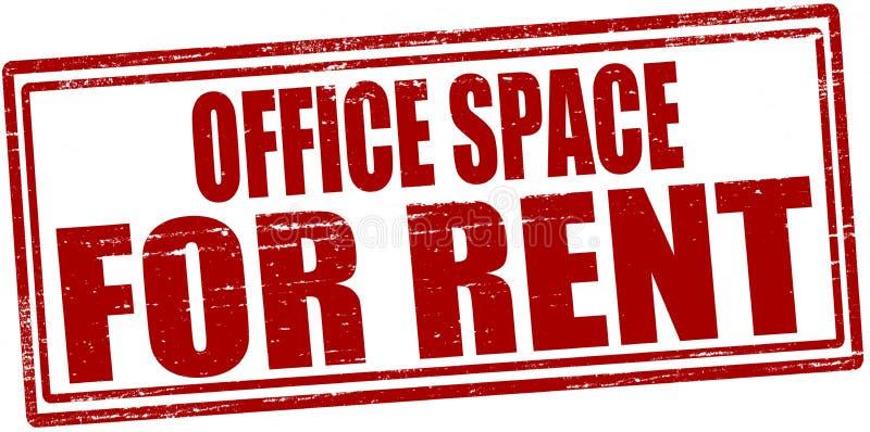 Büroräume für Miete vektor abbildung
